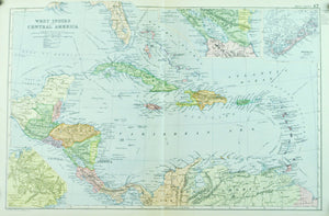 1891 West Indies and Central America