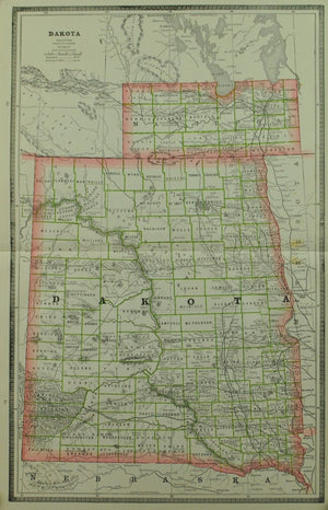 1884 Dakota - Cram