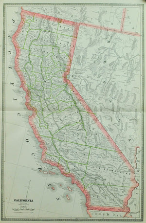 1884 California - Cram