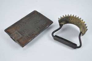 Antique1866 Geneva Fluter Crimper Hand Roller Iron