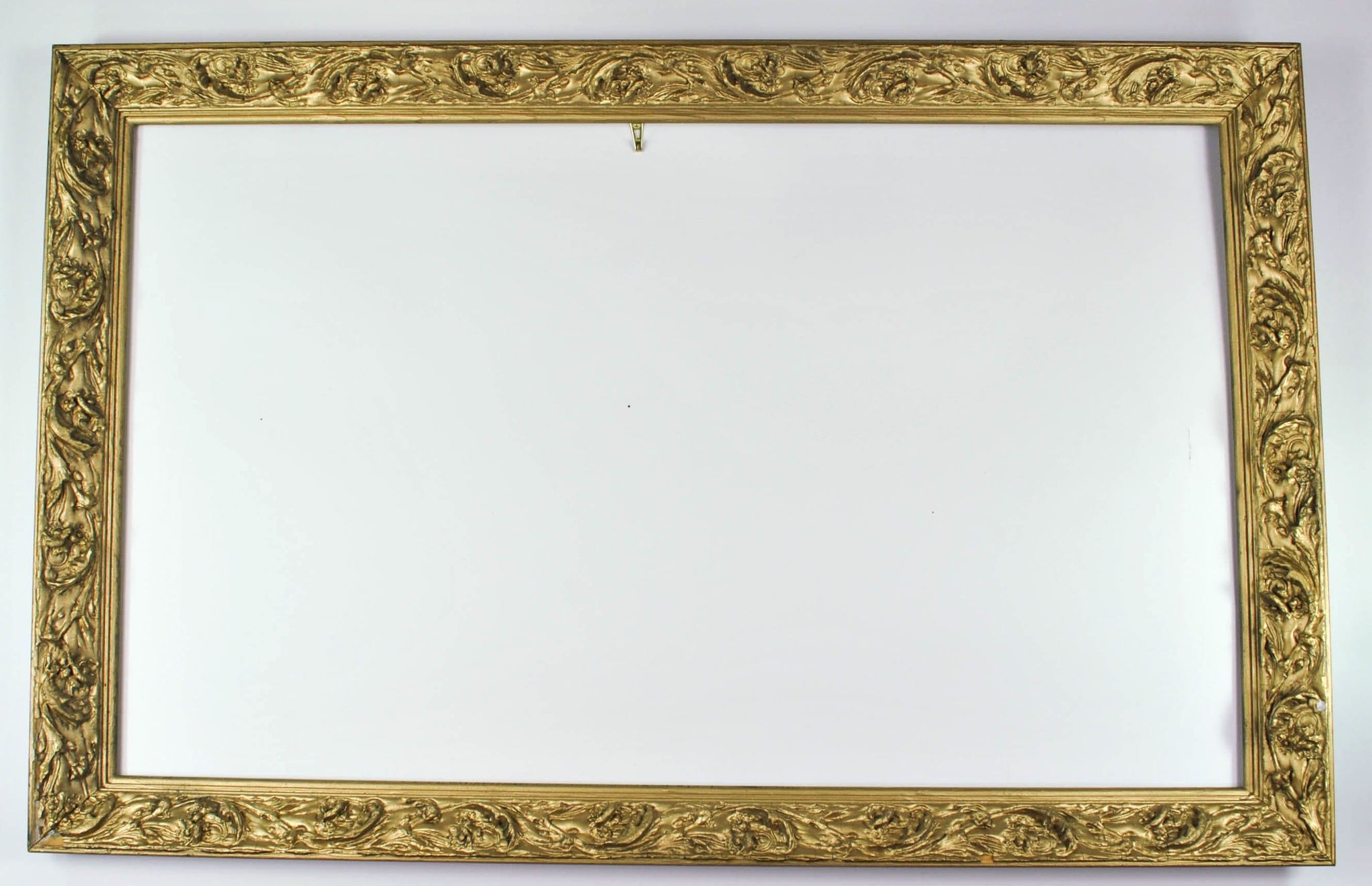Antique Carved Wood Gold Gilt European Style Frame with Baroque ...