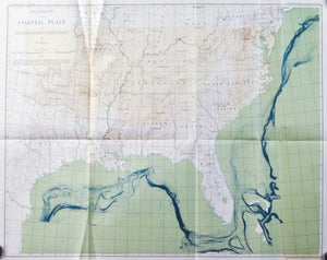1891 Coastal Plain of Southern United States - J W Powell