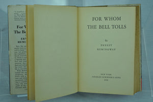 For Whom the Bells Toll, by Ernest Hemmingway, 1940.