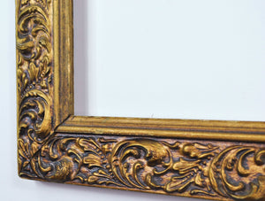 Antique c1900s Victorian Style Large Compo Gesso Frame 28x34