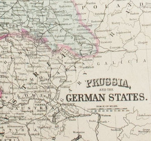1881 Prussia, and the German States - S Mitchell Jr