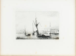 Venice c. 1880 Engraved Art Print