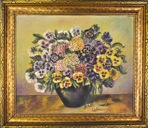 Altman - Floral Still Life - Oil on Board - 1930