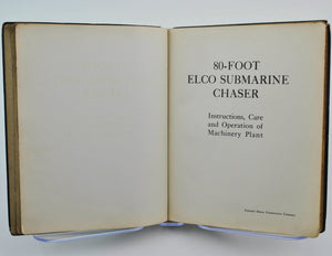 80-Foot Elco Submarine Chaser by Standard Motor Construction Co 1917