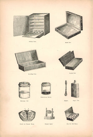 1891 Butterfly Storage Case - Morris