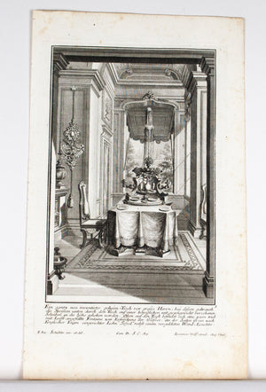 1735 Plate 3 - Secret Table - Schublers