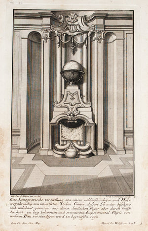 1735 Plate 5 - Globe Fireplace - Schublers
