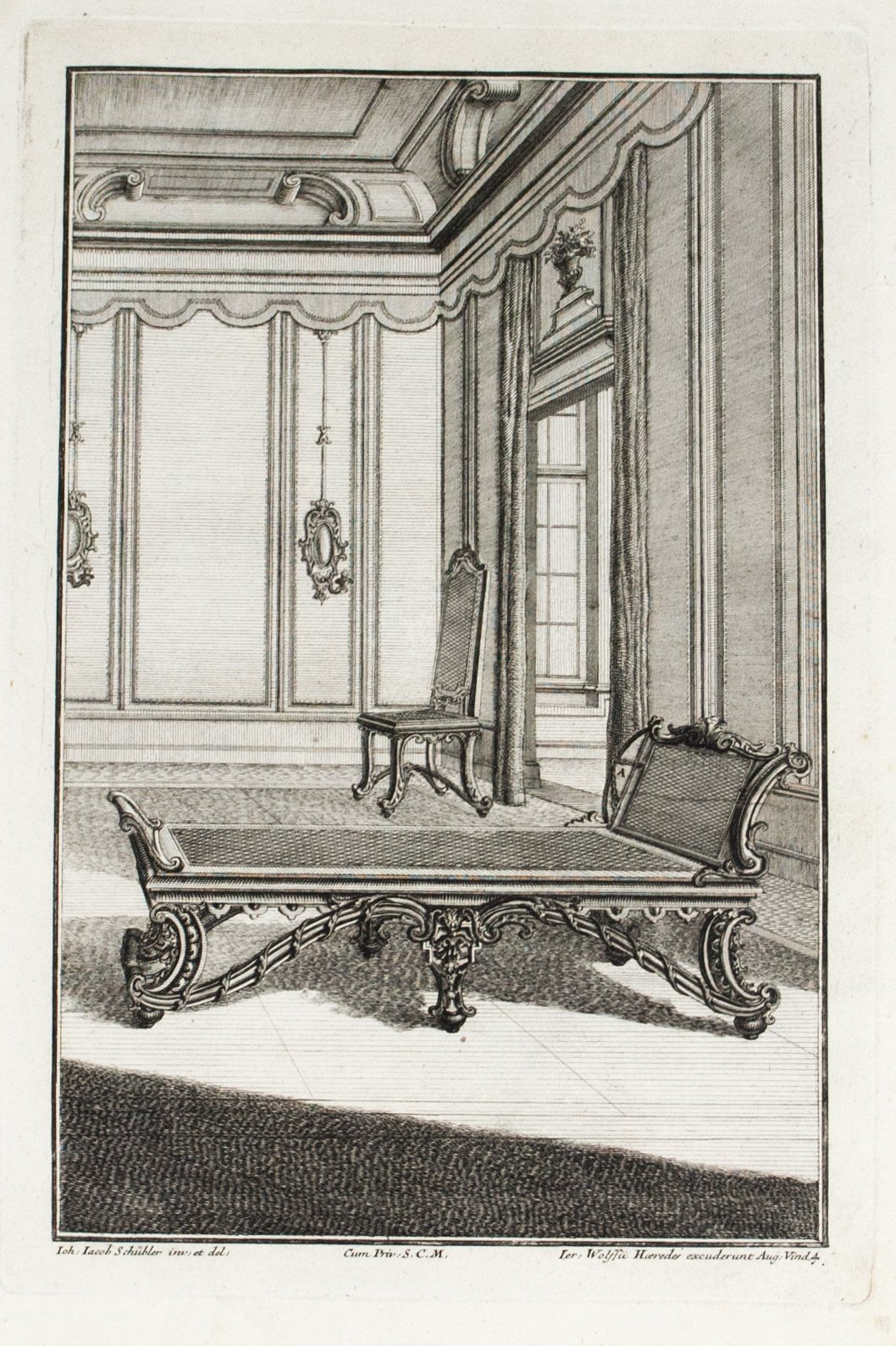 1735 Plate 4 - Daybed - Schublers