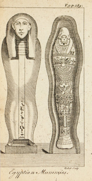 1774 Egyptian Mummies - Hulett