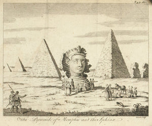 1774 The Pyramids of Memphis and the Sphinx - Hulett
