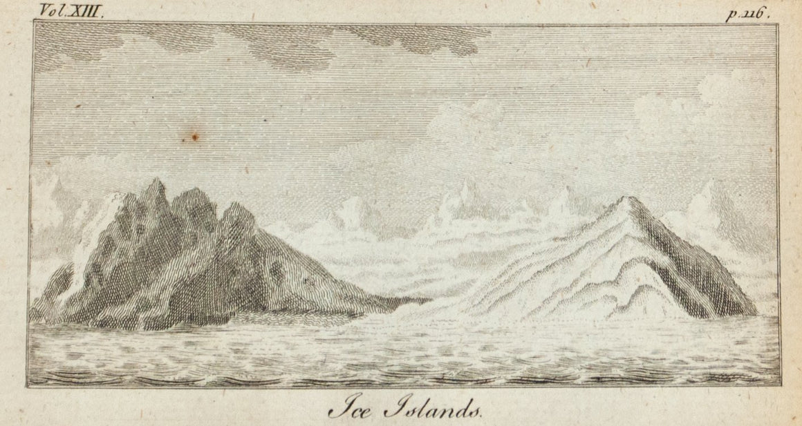 1775 Ice Islands [Glacier] - Robinson