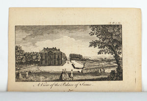 1774 A View of the Palace of Sceaux - Rigaud