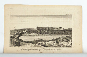1774 A View of the Castle of St. Germain en Laye - Rigaud