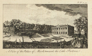 1774 Palace of Marlitonards the Little Parterre - Rigaud