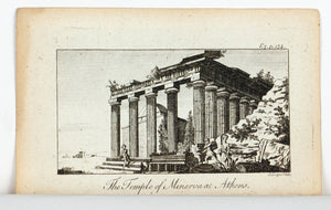 1774 The Temple of Minerva at Athens - J Lodge
