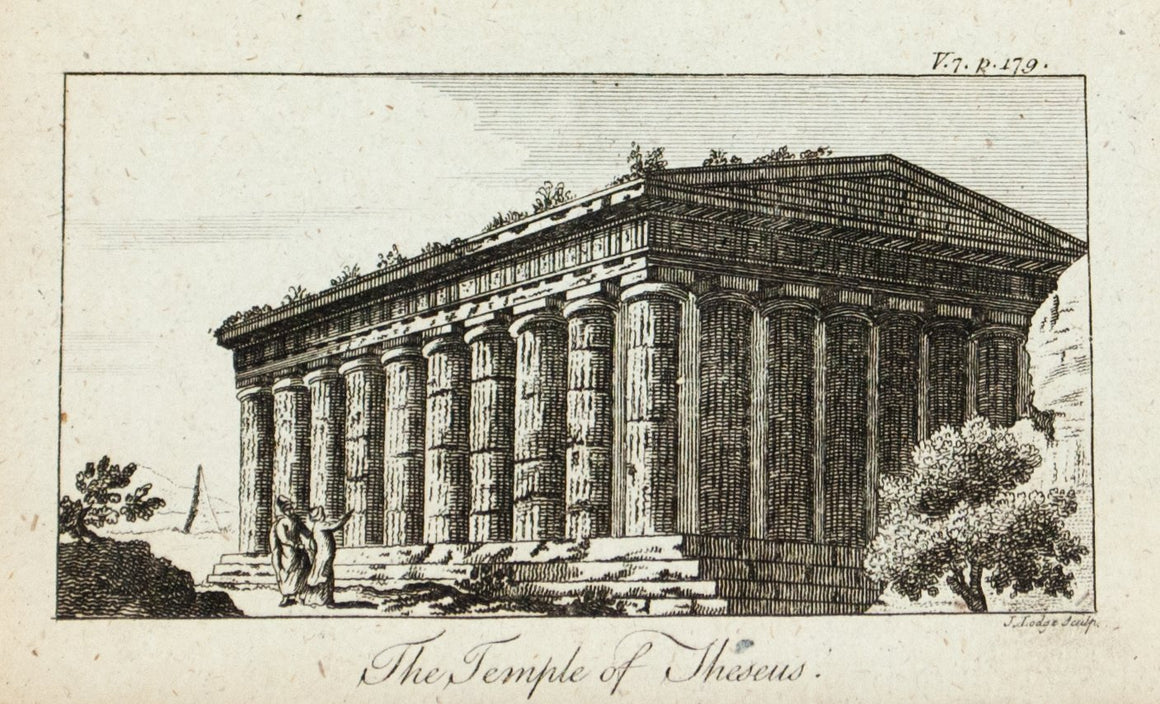1774 The Temple of Theseus - J Lodge