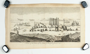 1774 Ruins of the Palace of Persepolis - Hulett