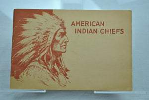 American Indian Chiefs Cushman Bakery Sticker Album