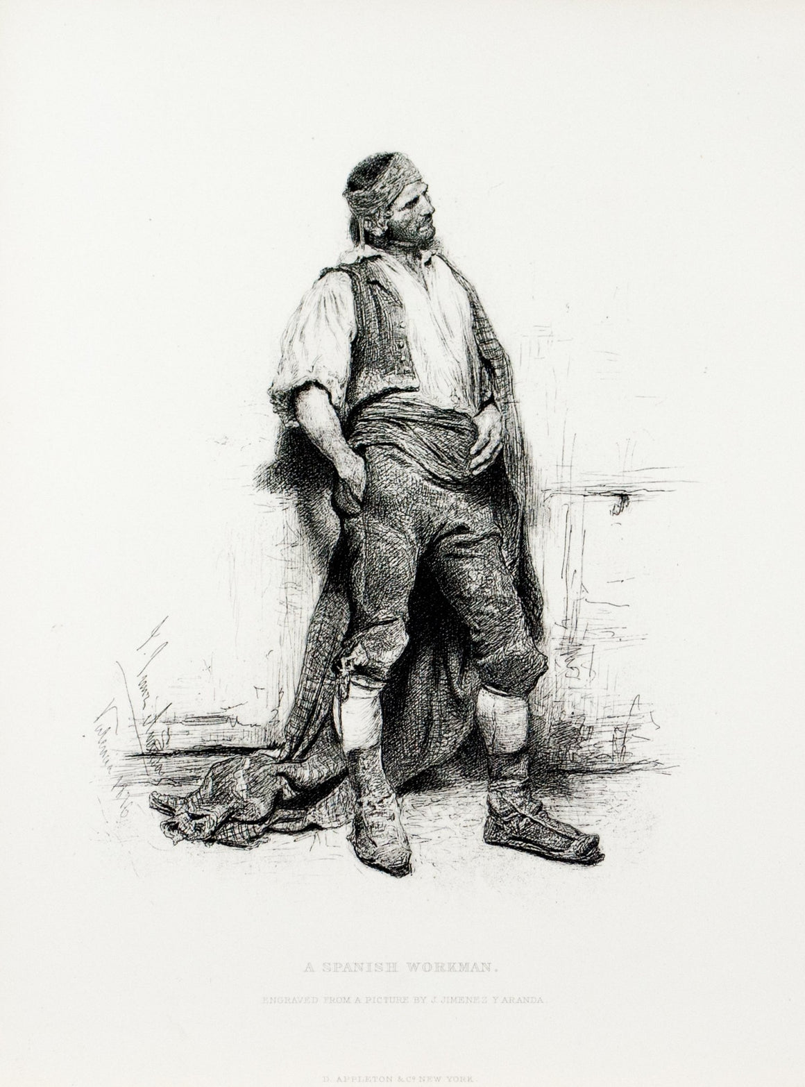 1879 A Spanish Workman - Aranda