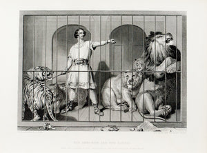 1879 Van Amburgh and the Lions - Landseer