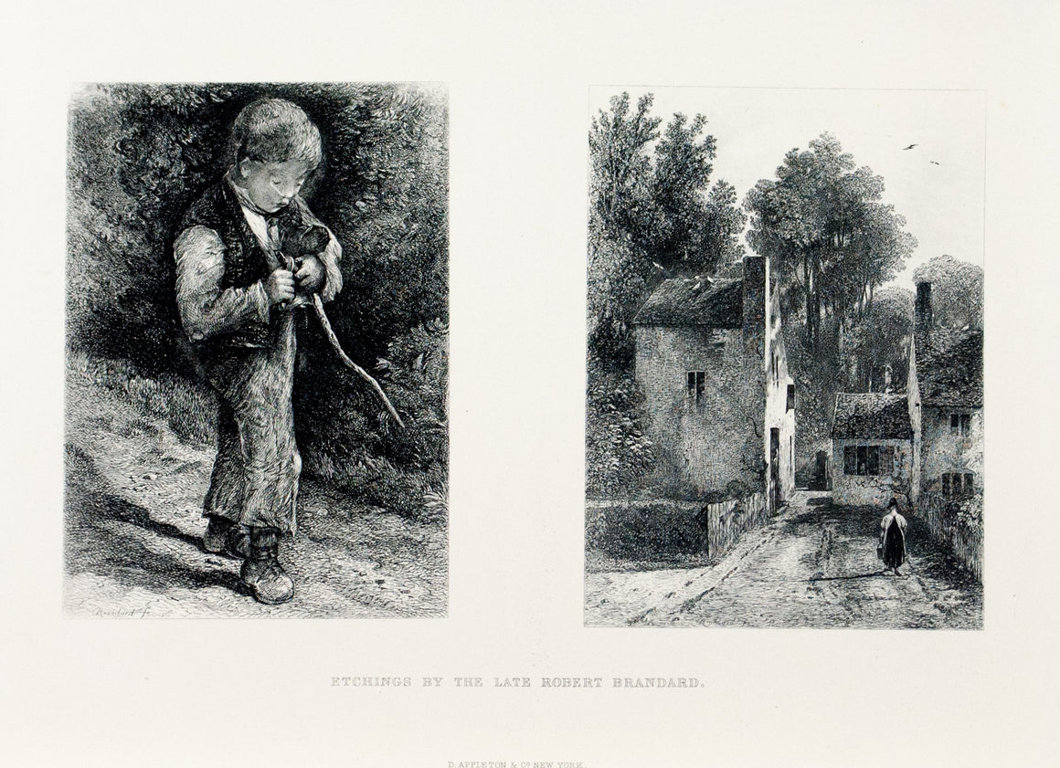 1875 Etchings by Robert Brandard - Brandard