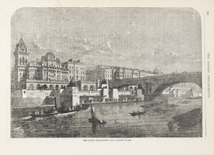 1883 The Albert Embankment - Frank Leslie