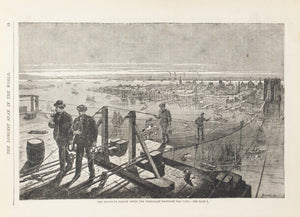 1883 The Brooklyn Bridge - Frank Leslie
