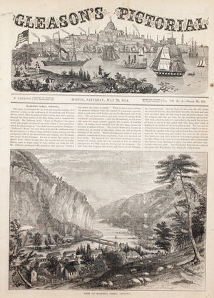 1854 Harper's Ferry Virginia - Gleason