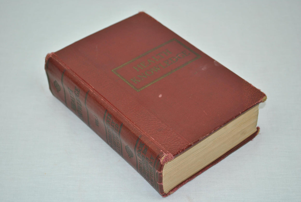 Health Knowledge Vol 1 by J L Corish MD 1927