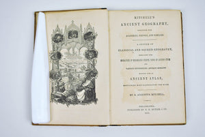 Mitchell's Ancient Geography by Augustus Mitchell 1858 Maps