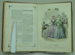 Moniteur De La Mode Journal Du Grand Monde Apr-Sep 1845 French Fashion Plates