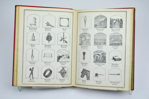 Kantner's Illustrated Book of Objects 2051 Engravings by W C Kantner 1890