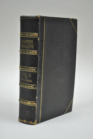 Harper's Monthly Magazine Dec 1852 May 1853 Bound