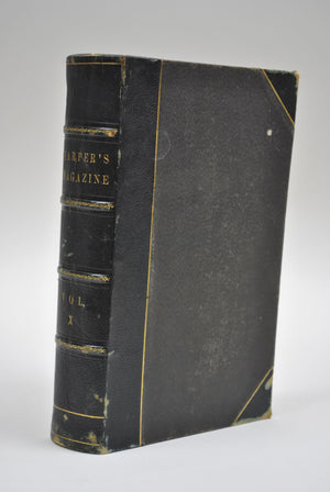 Harper's Monthly Magazine Dec 1854 May 1855 Bound