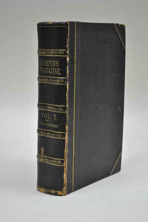 Harper's Monthly Magazine Jun-Nov 1853 Bound