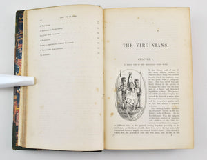 The Virginians: A Tale of the Last Century by William Thackeray 1858-1859 1st ed
