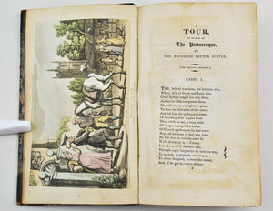 The Tour Of Doctor Syntax In Search Of The Picturesque by William Combe 1817
