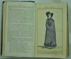 1821 Journal des Dames et des Modes Jan-Dec Women Fashion Plates