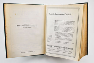 Moody's Manual of Investments Steam Railroads 1927