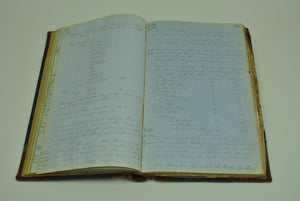 Handwritten Records of the La Crosse and Milwaukee Railroad Railway 1853-1858