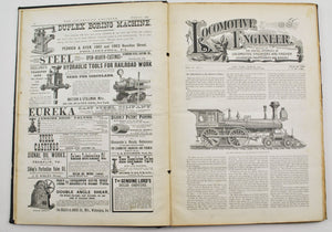 Locomotive Engineer Magazine Firemen Maintenance Repairs 1891