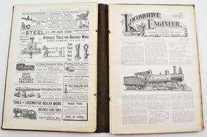 Locomotive Engineer Magazine Firemen Maintenance Repairs May 1888 to Oct 1890