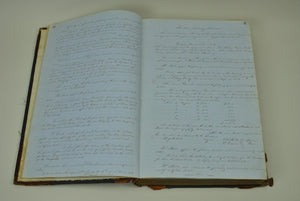 Milwaukee and Mississippi Railroad Handwritten Records 1854-1861
