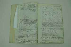 Dubuque and McGregor Railway Co. Handwritten Records 1868-1871
