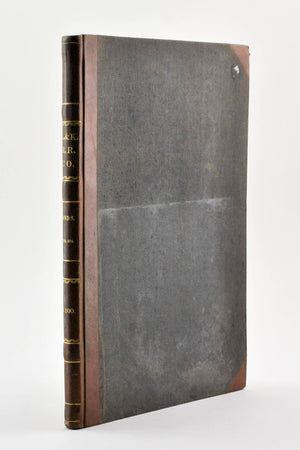 Penobscot and Kennebec Railroad Maine Bond Records 1851-1852