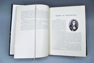Makers of Philadelphia Portraits and Sketches by Charles Morris (ed.) 1894